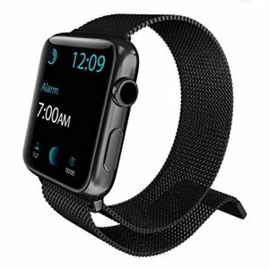 unknown - NOT apple brand Accessories - Apple Watch Band - Milanese Loop 42/44mm BLACK